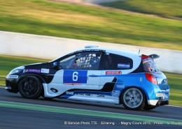Clio Cup à Magny cours au trophée tourisme endurance équipe eXigence Motorsport