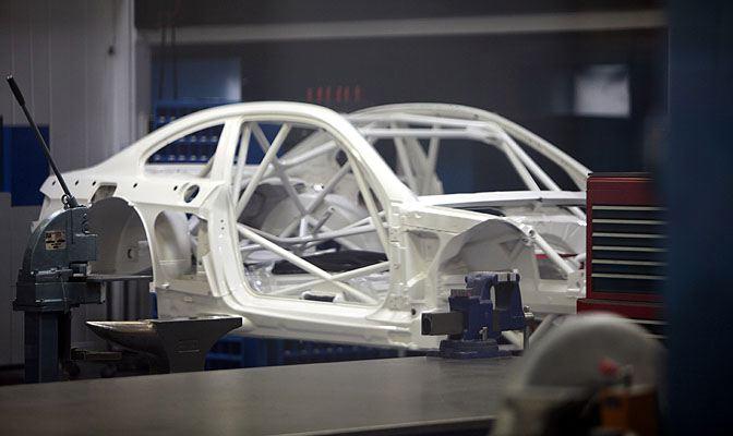 Préparation chassis et moteur pour voiture